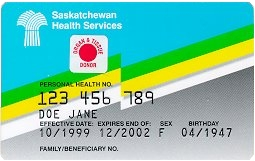 SK Health Card Image